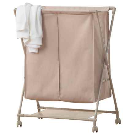 neatfreak!® Double-Compartment Laundry Sorter in Beige - Closeouts