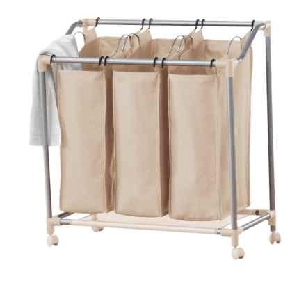 neatfreak!® everfresh® Triple Laundry Sorter in String Beige - Overstock