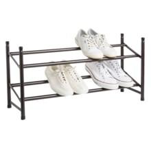 neatfreak! Expandable Stackable Shoe Rack in Bronze - Overstock