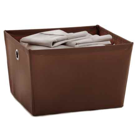 neatfreak! Fabric Storage Bin - Large in Brown - Closeouts