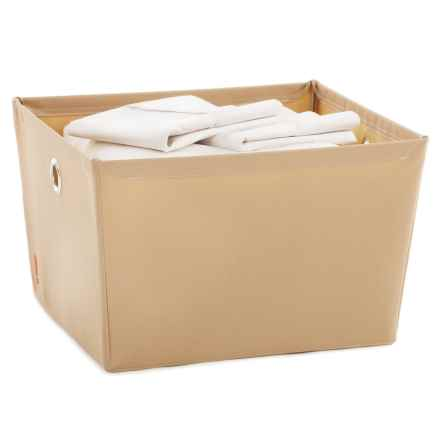 neatfreak! Fabric Storage Bin - Large in Sand Pebble Taupe - Closeouts