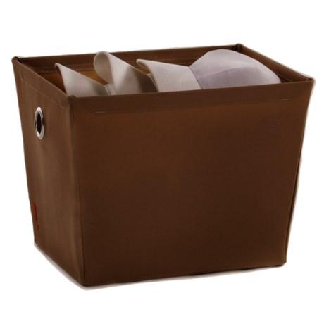 Beau Neatfreak! Fabric Storage Bin   Small In Brown