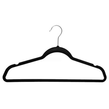 neatfreak! Flocked Non-Slip Hangers - 25-Pack in Black - Closeouts
