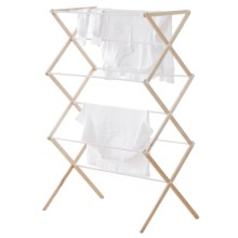 neatfreak! Folding Drying Rack - Wood in Natural - Closeouts
