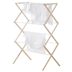 neatfreak! Folding Drying Rack - Wood in Natural