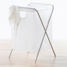 neatfreak! Folding Hamper in White - Closeouts