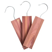 neatfreak! Hanging Cedar Deodorizers - Set of 3 in Cedar - Overstock
