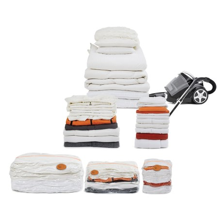 neatfreak! Neatbag Cube Vacuum Storage Bag Set - 3-Piece in Clear