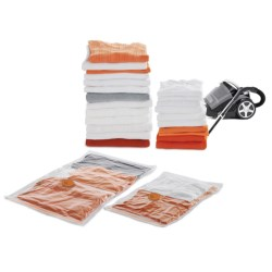 neatfreak! Neatbag Flat Vacuum Storage Bags - 2-Piece in Clear