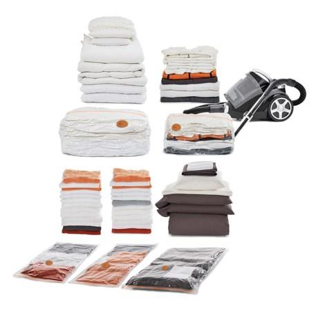 neatfreak! Neatbag Vacuum Storage Bag Set - 5-Piece in Clear