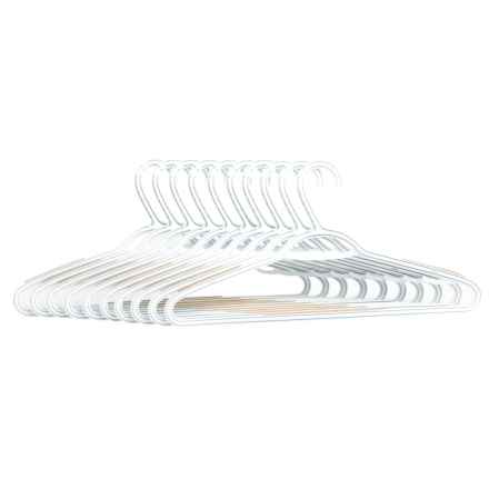 neatfreak! Non-Slip Clothes Hangers - 10-Pack in White - Closeouts