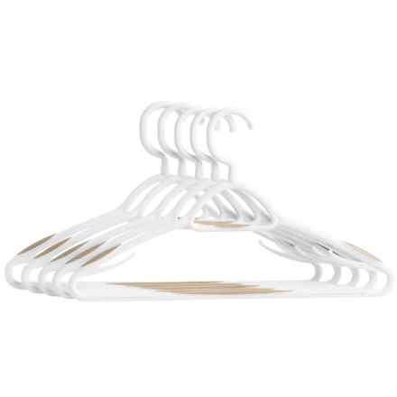 neatfreak! Non-Slip Clothes Hangers - 5-Pack in White - Closeouts