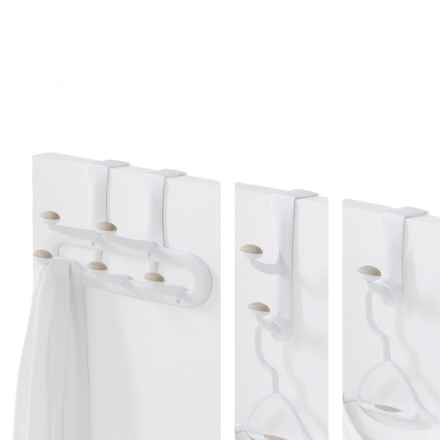neatfreak! Over-the-Door Hooks - Set of 3 in White - Closeouts