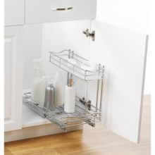 neatfreak! Roll-Out Undersink Organizer in Chrome - Closeouts