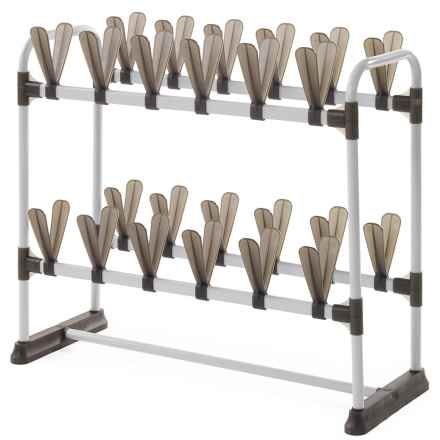 neatfreak! Shoe Tree - 24-Pair in White/Black - Closeouts