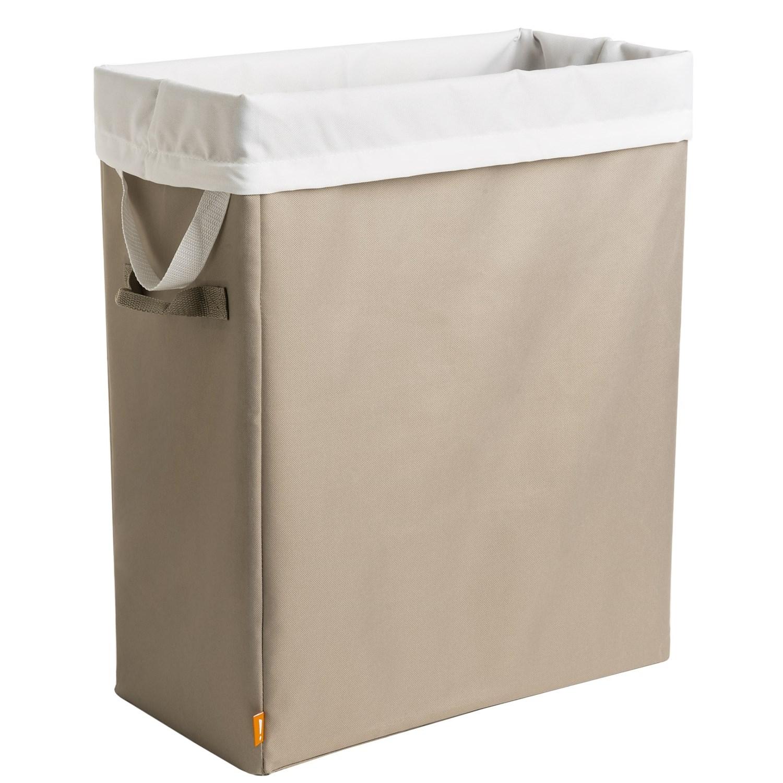 Neatfreak slim space saving laundry hamper save 54 - Narrow laundry hamper ...