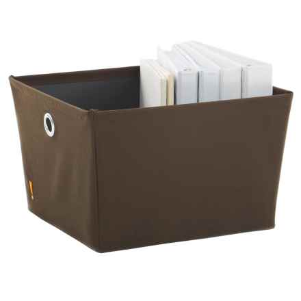 neatfreak! Storage Bin - Large in Chocolate - Closeouts
