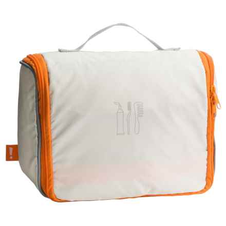 neatfreak! Travel Cosmetic Bag with everfresh® - Large in Off White - Closeouts