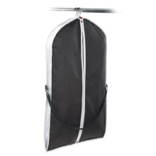 neatfreak! Travel Garment Bag with Carry Strap in Black/Anthracite - Closeouts