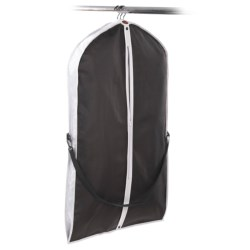 neatfreak! Travel Garment Bag with Carry Strap in Black