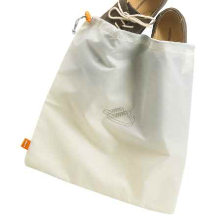 neatfreak! Travel Shoe Bag with everfresh® in Off White - Overstock
