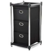 neatfreak! Uptown 3-Drawer Storage Unit in Black - Overstock