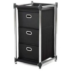 neatfreak! Uptown 3-Drawer Storage Unit in Black