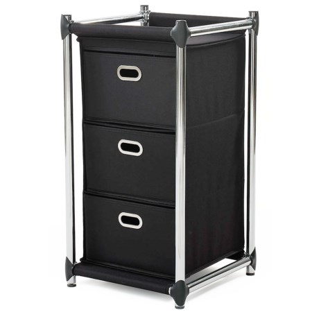 neatfreak! Uptown 3-Drawer Storage Unit in Black
