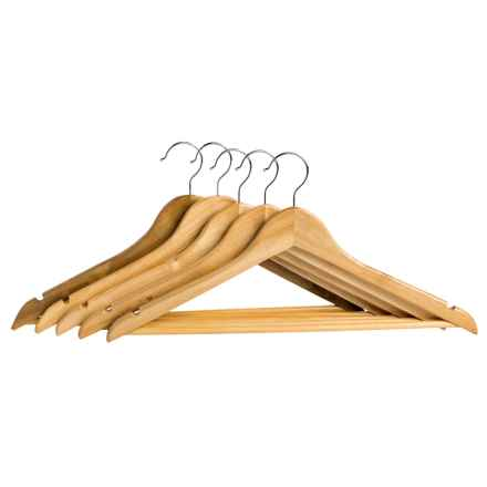 neatfreak! Wood Clothes Hangers - 5-Pack in Natural - Closeouts