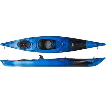 """Necky Manitou 13 Touring Kayak - 12'10.5"""" in Storm - 2nds"""