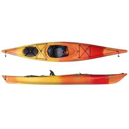 Necky Manitou 13 Touring Kayak in Sunrise - Closeouts