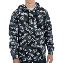 Neff Alive Pullover Hoodie (For Men) in Black - Closeouts