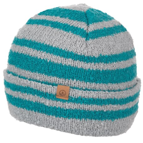 Neff Lennon Beanie (For Women) in Grey Heather Teal. Tap to expand e8d0255d5