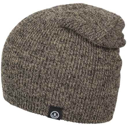 Neff Serge Beanie (For Men and Women) in Twill/Black - Closeouts