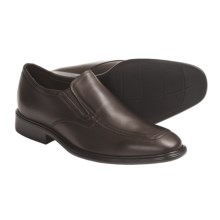 Neil M Ambassador Moc-Toe Shoes, Leather, Slip-Ons (For Men) in Chocolate - Closeouts