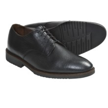 Neil M Cambridge Oxford Shoes - Leather (For Men) in Black Bison - Closeouts