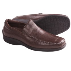 Neil M Rome Shoes - Leather, Slip-Ons (For Men) in Walnut