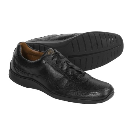 Neil M Sedan Shoes - Leather Oxfords (For Men) in Luggage