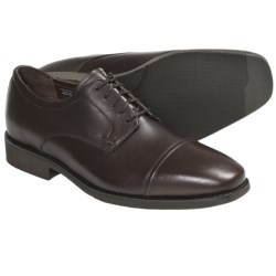 Neil M Senator Oxford Shoes - Leather, Cap Toe (For Men) in Chocolate