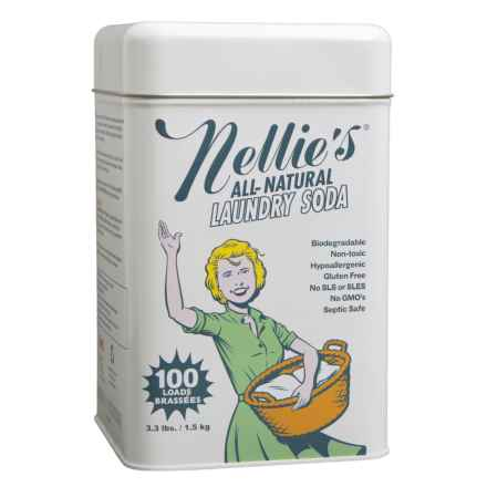 Nellie's All Natural Laundry Soda - 100 Loads in See Photo - Closeouts