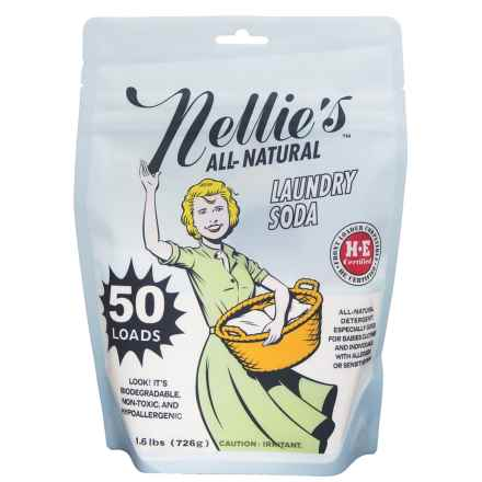 Nellie's All-Natural Laundry Soda - 50 Loads in See Photo - Closeouts