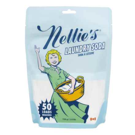 Nellie's All Natural Laundry Soda Pouch - 50 Loads in Multi - Closeouts