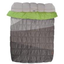 Nemo 20°F Mambo Duo Camping Comforter in Aluminium/Clover - Closeouts