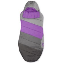 Nemo 25°F Celesta Sleeping Bag - Spoon, Long (For Women) in Aluminium/Iris - Closeouts