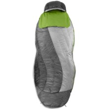 Nemo 30°F Nocturne Downtek Sleeping Bag - 700 Fill Power, Spoon, Long in Aluminium/Clover - Closeouts