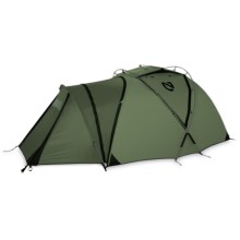 Nemo Moki 3P Tent/Vestibule Combination - 3-Person, 4-Season in Military Green - Closeouts