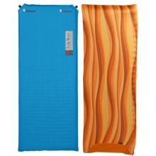 Nemo Tuo Cub Sleeping Pad - Slipcover, Self-Inflating in Blue/Sunrise Orange - Closeouts