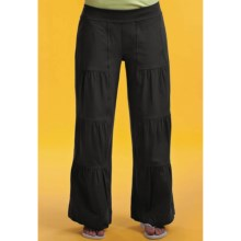 Neon Buddha Adrian Palazzo Ruched Panel Pants (For Women) in Black - Closeouts