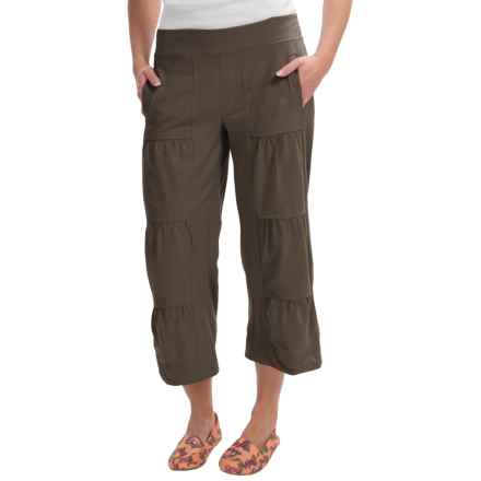 Neon Buddha Ain't Seen Nothing Yet Jersey Capris (For Women) in Rich Wood - Closeouts
