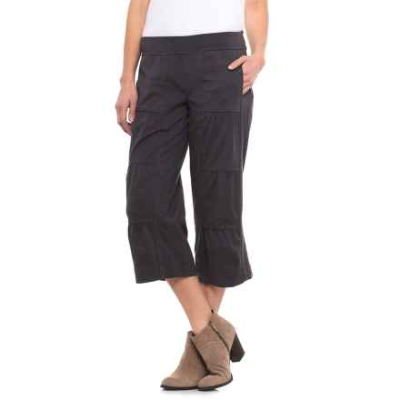 Neon Buddha Ain't Seen Nothing Yet Jersey Capris (For Women) in Sustainable Charcoal - Closeouts